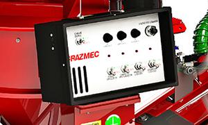 Regula a dosagem de produtos líquidos, evitando o contato direto com o operador, proporcionando uma aplicação exata evitando desperdícios ou subdosagens, independentemente da quantidade de calda.